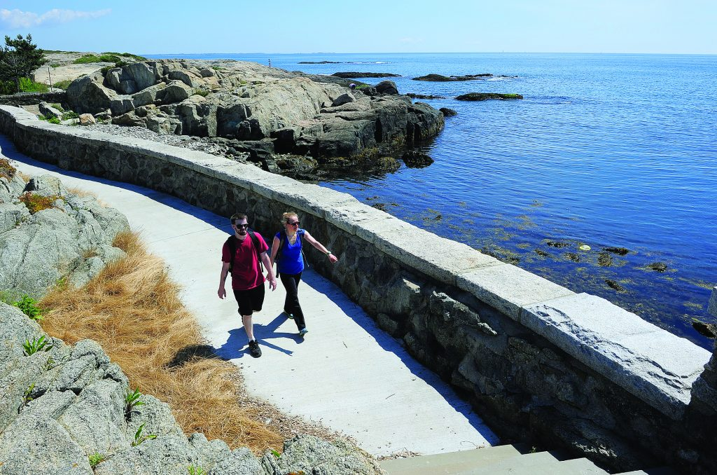 Cliff Walk by Newport Daily News