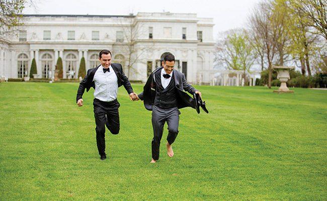 newport wedding, lgbt, castle hill inn, dave robbins photography
